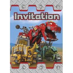 Dinotrux - Invitations