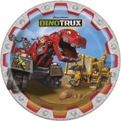 Dinotrux - Assiette carrée 9''