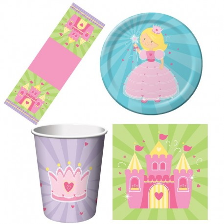 Princesse - Kit simple de décoration de fête d'enfant