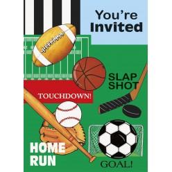 Sports classiques - Invitations