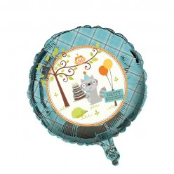 Forêt - Ballon Métallique