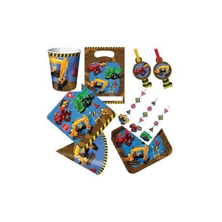 Chantier construction - Kit simple de décoration