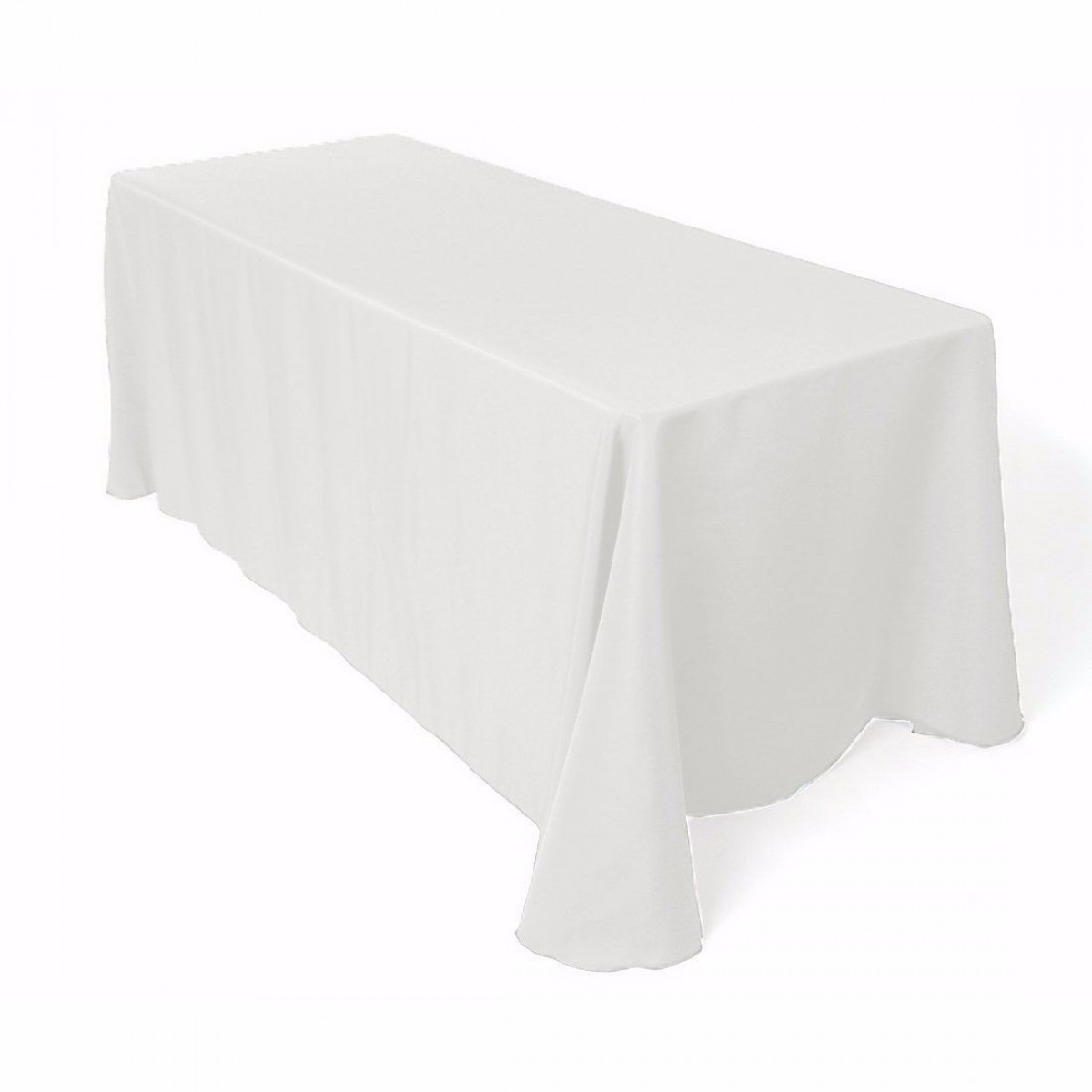 Nappe de table blanche