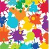 Fête artistique - Serviettes de table 3 plis