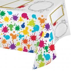 Fête artistique - Nappe de table en plastique