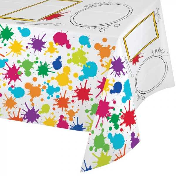 nappe de table plastique anniversaire artistique f te enfant. Black Bedroom Furniture Sets. Home Design Ideas