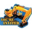 Chantier construction - Invitations