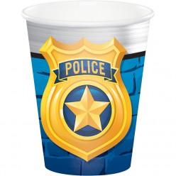 Policier - Verre chaud/froid 9oz