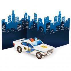 Policier - Centre de table