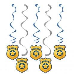 Policier - Guirlandes