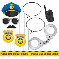 Policier - Accessoires de cabine photo