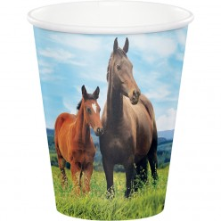 Chevaux - Verre chaud/froid 9oz