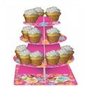Luau - Plateau étagé à cupcake