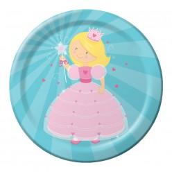 Princesse - Assiette ronde 9''