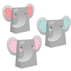 Éléphant enchanteur - sacs à surprises