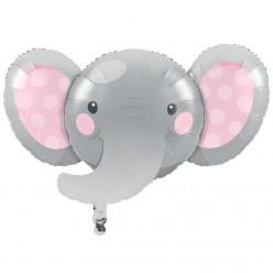 Éléphant enchanteur - Ballons alluminium