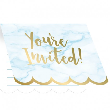 Or et Marbre - Invitations