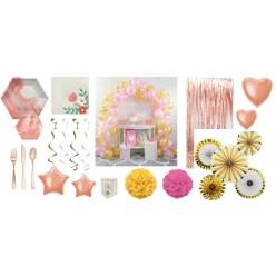 Pack - Aquarelle Rose - Or