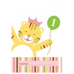 Zoo - 1er Anniversaire fille - Sacs à surprises