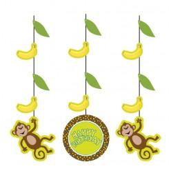 Singe - Guirlande de décoration de fête