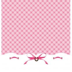 Cheval de coeur - Nappes de table en plastique