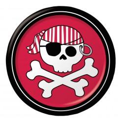 Pirate - Assiette 7'' garçon
