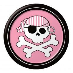 Pirate - Assiette 7'' fille