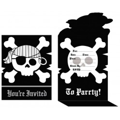 Pirate - Invitations
