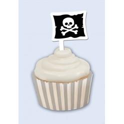 Pirate - Décoration de petit gâteau