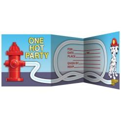 Pompier - Invitations