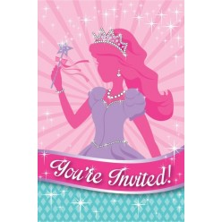 Princesse - Invitations
