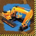Chantier construction - Serviettes de table 3 plis