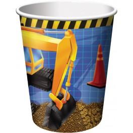 Chantier construction - Verre chaud/froid 9oz