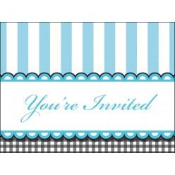 Pieds de bébé - Invitations