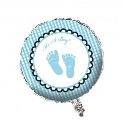 Pieds de bébé - Ballon Métallique