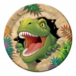 Dinosaure - Assiette 9''