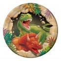 Dinosaure - Assiette 7''
