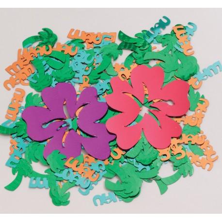 Confitti fleurs Luau