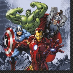 Les avengers - Serviettes de table