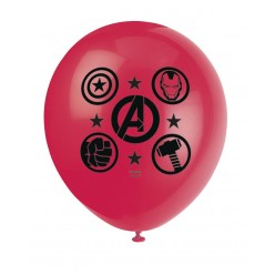 Les Avengers - 12'' Ballons imprimés - 2 côtés