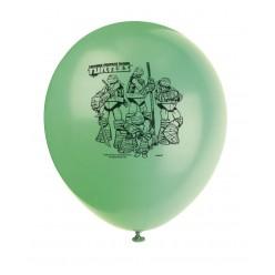 Tortues ninja - 12'' Ballons imprimés - 2 côtés