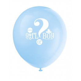 Gender Reveal - Ballon latex 12''