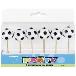 Bougies - Ballon de Soccer
