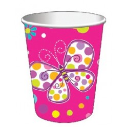 Papillons - Verre chaud/froid 9oz