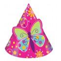 Papillons - chapeaux