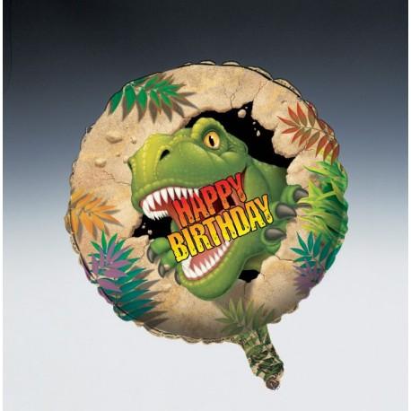 Dinosaure - Ballon Aluminium